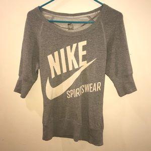 Nike 3/4 Sleeve Graphic Logo Sweatshirt